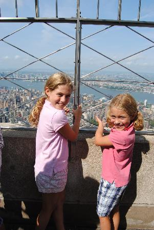 Empire State Building: looking out
