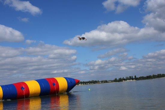 Blob jump lac du der giffaumont champaubert 2018 ce qu 39 il faut savoir pour votre visite - Office tourisme lac du der ...