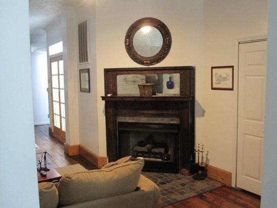 The 1857: living room, third floor
