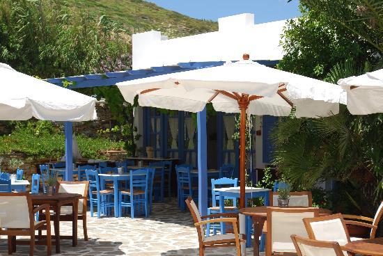 Villa Marandi Luxury Suites: La merveilleuse terrasse du resto