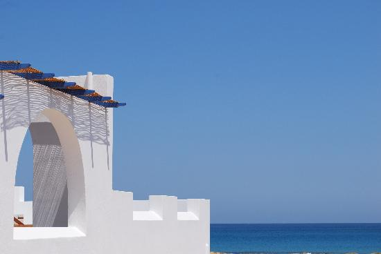 Villa Marandi Luxury Suites: Balcon sur la mer