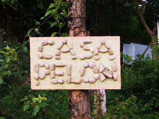 Casa Pelon: Their sign outside