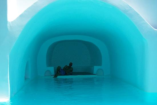 Inside Pool Cave view from inside the cave pool - picture of esperas, oia - tripadvisor