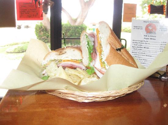 Dina's Sandwitch: Hoagie Sandwich