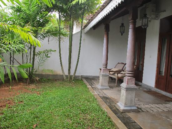 Tamarind Hill by Asia Leisure: Attached patio