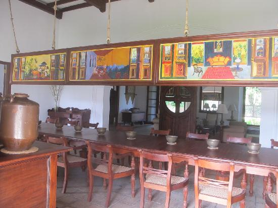 Tamarind Hill by Asia Leisure : Indoor dining area. There is an additional dining area set outside.