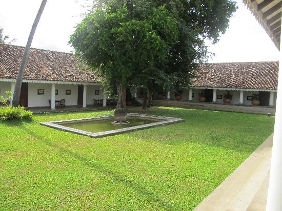 Tamarind Hill by Asia Leisure : A view of the courtyard with the tamarind trees