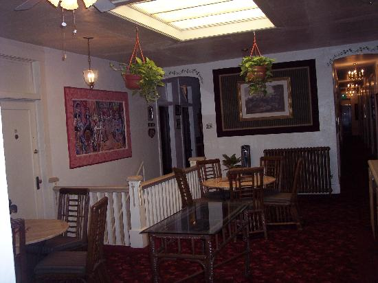 Palace Hotel: Common Area