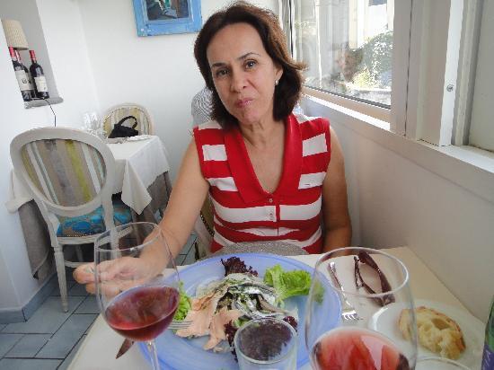 Ristorante Capricorno : Salada de filés de peixes marinados. Delícia!