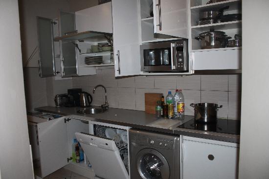 Residence Pelican: 完璧なキッチン