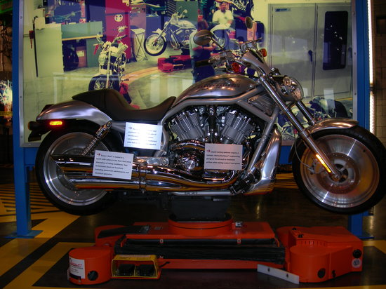 Harley Davidson Factory Tour: V Rod