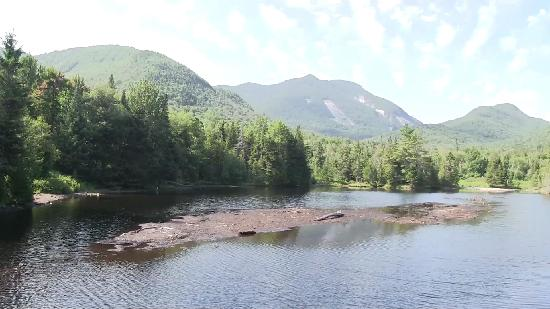 Keene, Нью-Йорк: Heart Lake of Adirondacks