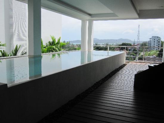 รีสอร์ทเดอะควอร์เตอร์ภูเก็ต: private pool in pool suite