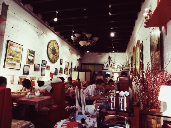 ShangHai GLISMATTEN RuiShi Hotpot Wu: Inside Glismatten