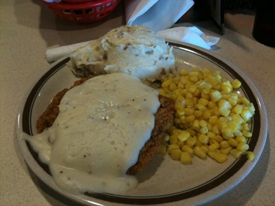 Eckert's Country Store & Farms: chicken fried steak