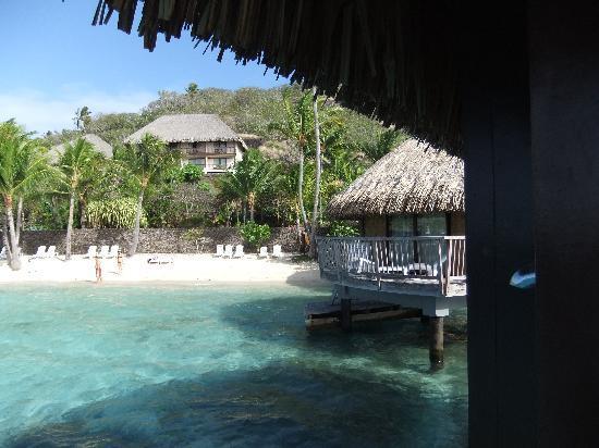Maitai Polynesia Bora Bora: vue d'un bungalow