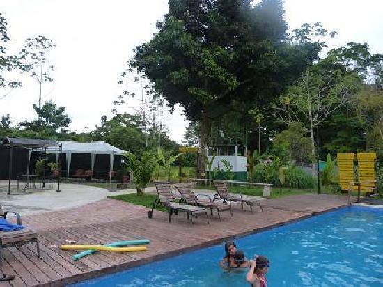 La Quinta de Sarapiqui Country Inn: une des deux belles piscines