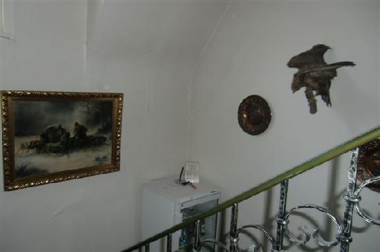 Waldschlösschen: the hall between floors