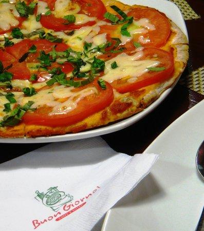 Buon Giorno: Pizza Margherita - delicious in its simplicity.