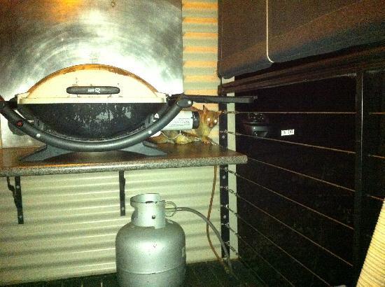 Allawah Retreat: BBQ loving possum!