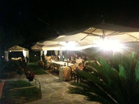 Ristorante Pizzeria Le Magnolie: in giardino