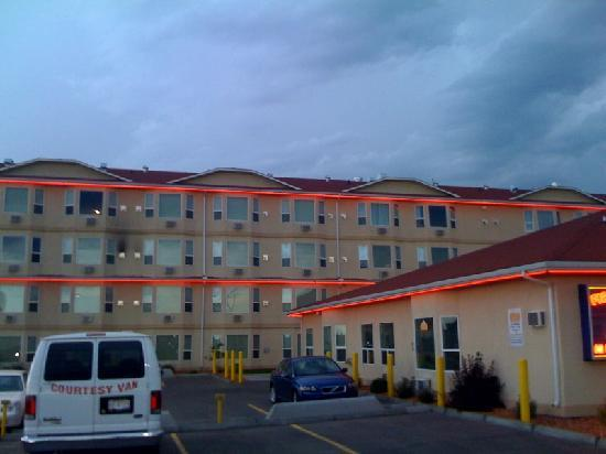 Leduc, Canada: The rooms at this side are more  quiet