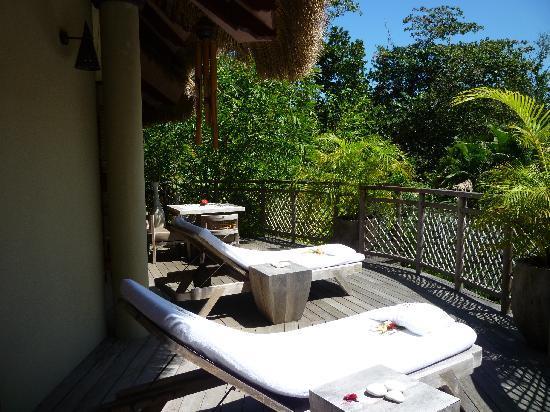 Le Domaine de L'Orangeraie Resort and Spa: Le balcon de la villa de charme