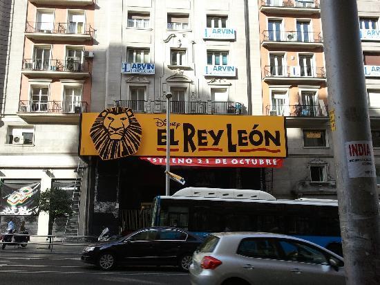 Lope de Vega Theater : Estreno de EL REY LEÓn el próximo 21 de octubre