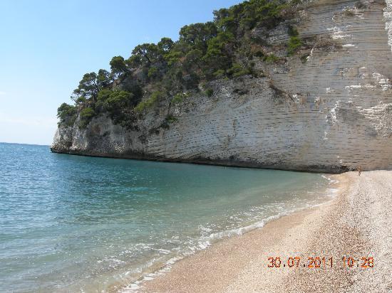 Hotel Baia delle Zagare : Spiaggia sud 2