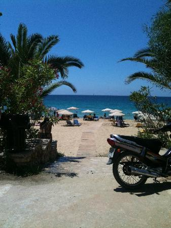 Museum Hotel George Molfetas: One of the lovely beaches a short drive from Faraklata