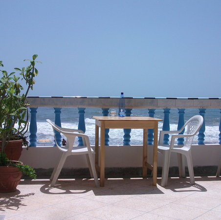 Aftas Beach Guest House : one of our terraces