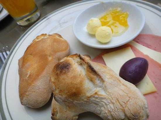 Mirador del Monasterio: ビュッフェの朝ごはん