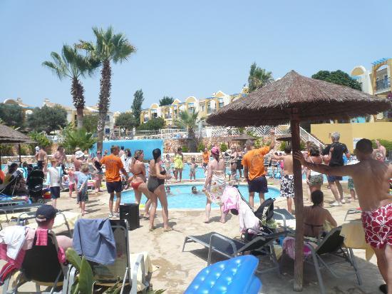 Aparthotel Paradise Club & Spa : Vista general del hotel desde la terraza