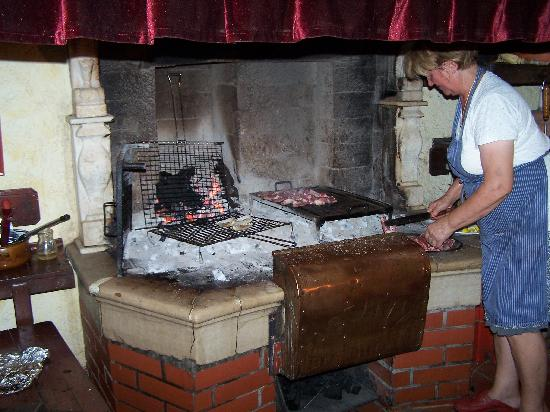Brtonigla, Croácia: Zubereitung der Speisen
