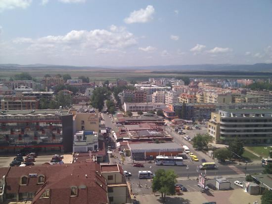 Kuban: view from 15th floor (back of hotel)
