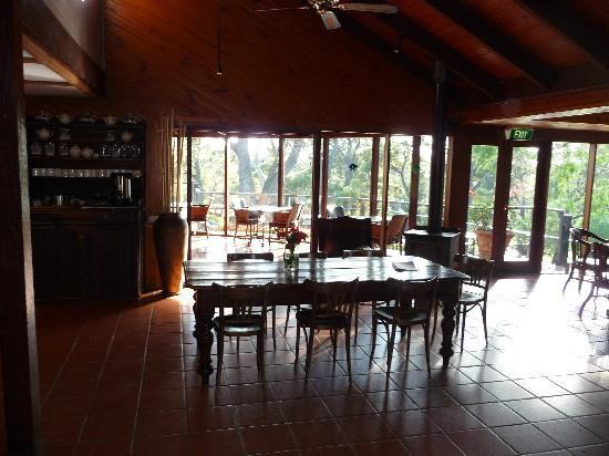 Karriview Lodge : Restaurant and breakfast area
