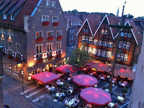 Hotel Busche: View from room