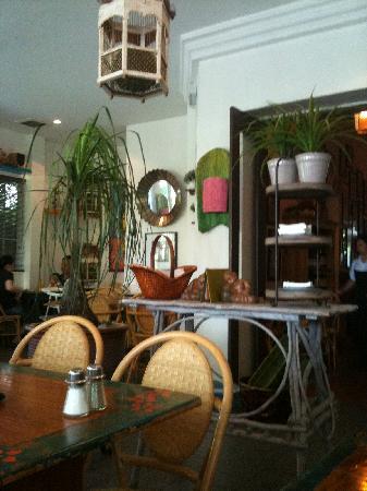 Indulgence Restaurant : The breakfast room