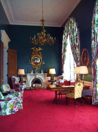 The Greenbrier: Writing Room
