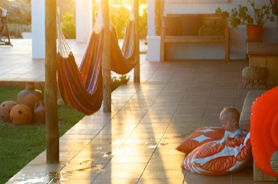 Cerca do Sul: relaxing at dusk