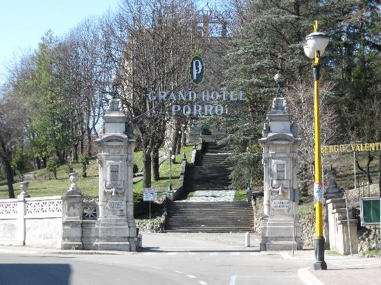 Grand Hotel Porro: esterno hotel