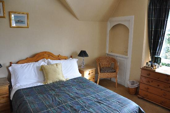 Highfield House: Partial view of our room