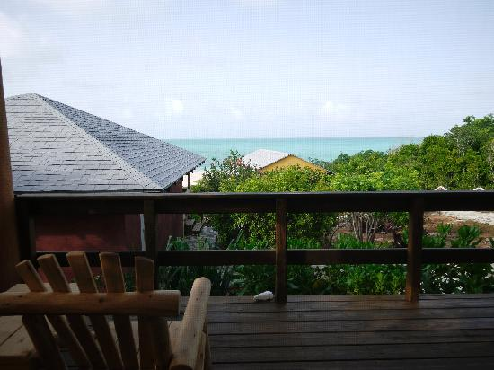 Shannas Cove Resort: View and deck