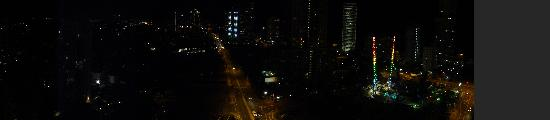 Solaire Apartments: The view at night
