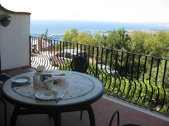 Villa Costanza Bellavista: View from the balcony