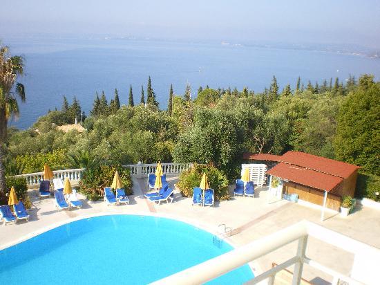 Sunshine Corfu Hotel & Spa : vue de la chambre