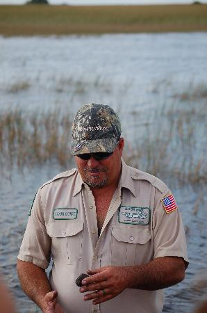 Gray Line Miami Tours: Airboat ride in the river of grass