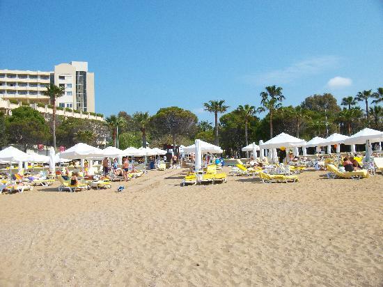 Barut Hemera: Private beach