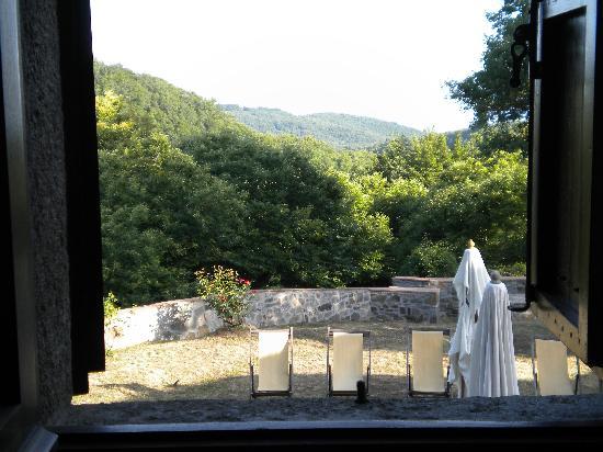 Arcidosso, إيطاليا: da una finestra