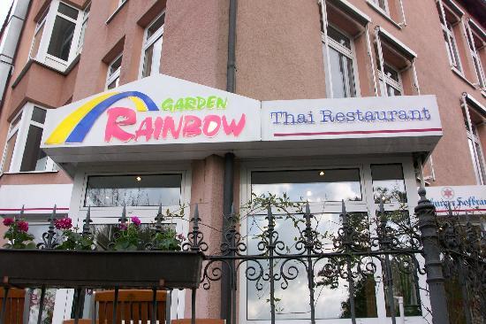 Rainbow Garden: front view